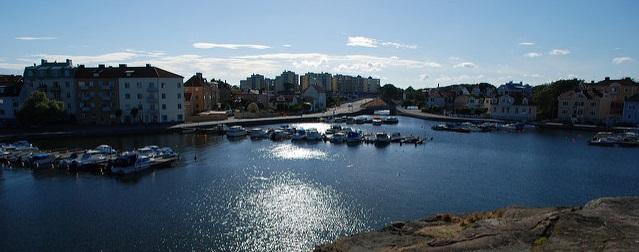 Karlskrona in Südschweden